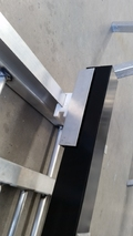 Guide Block With angle slide plates 75MM Post