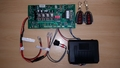 12v D1 Swing Gate Control board with 2 remotes and LS receiver